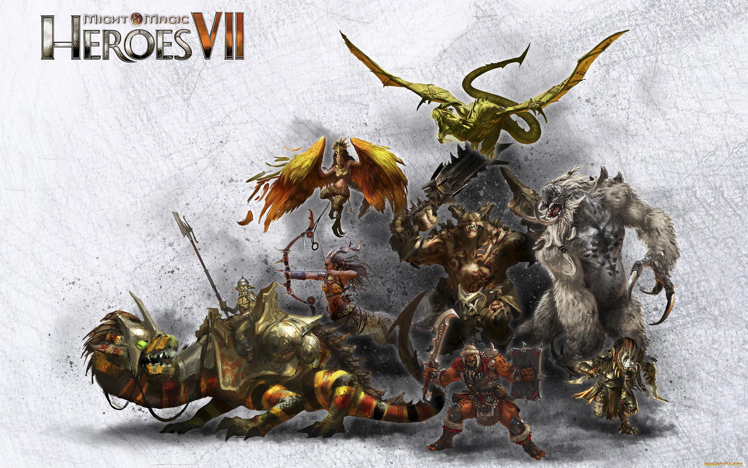 Картинки героев из игры герои меча и магии